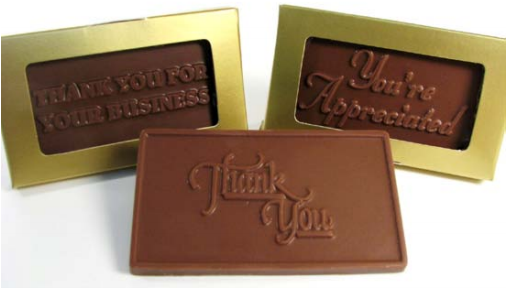 corporate chocolate